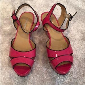 Ferragamo platform sandals